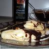 Блинчики с бананом в шоколаде для Дианы