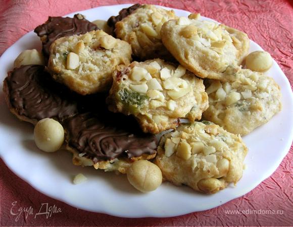 Флорентийское печенье с макадамией для всей команды ЕД и самых дорогих друзей :)