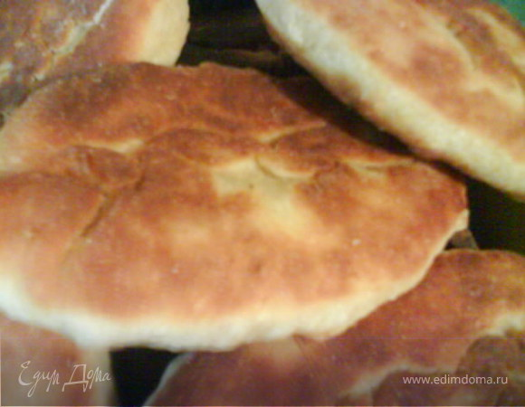Пирожки с тунцом и яйцом