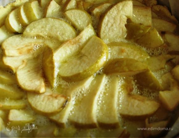 Воздушный Тарт с яблоками