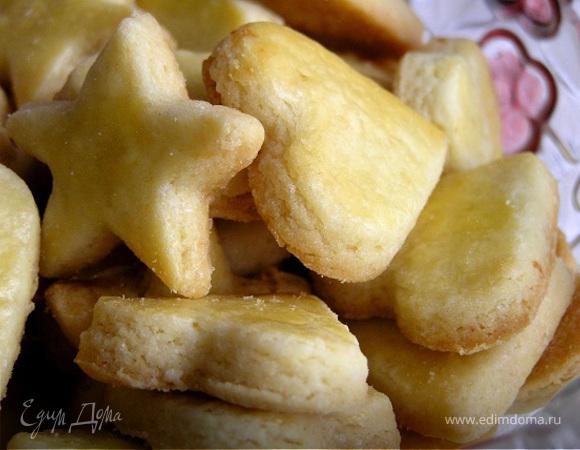 Песочное печенье с ароматом лимона