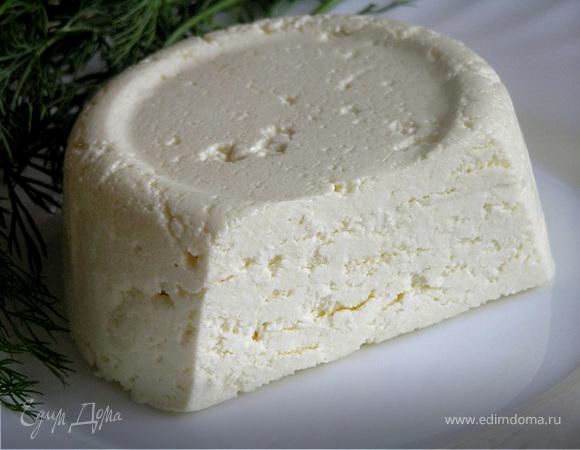 Домашний адыгейский сыр