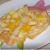 Ромовые блинчики с фруктами