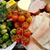 Запеканка с овощами и рыбой