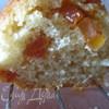 Масленно пудинговый кекс с кусочками папайи