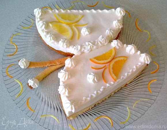"торт ""Бабочка-лимонница"""