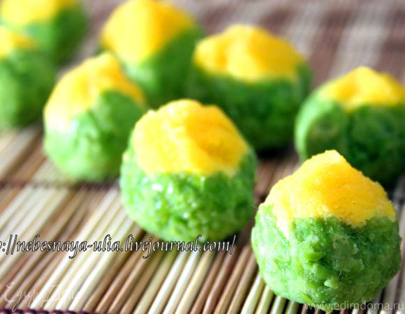 Японские пирожные «Тякин сибори»