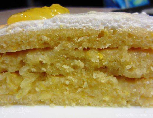 Лимонный пирог по рецепту мамы