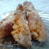 Мясные пальчики с киви и яблоками