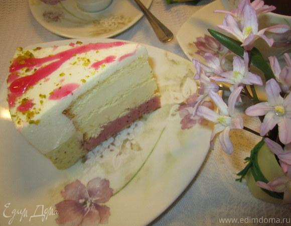 """Торт -суфле """" В весенних красках"""""""