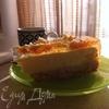 Творожный заливной торт