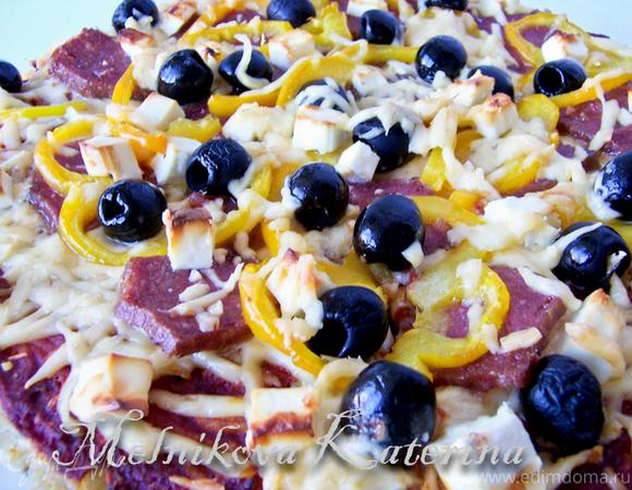 Пицца на спагетти - Spaghetti Pizza