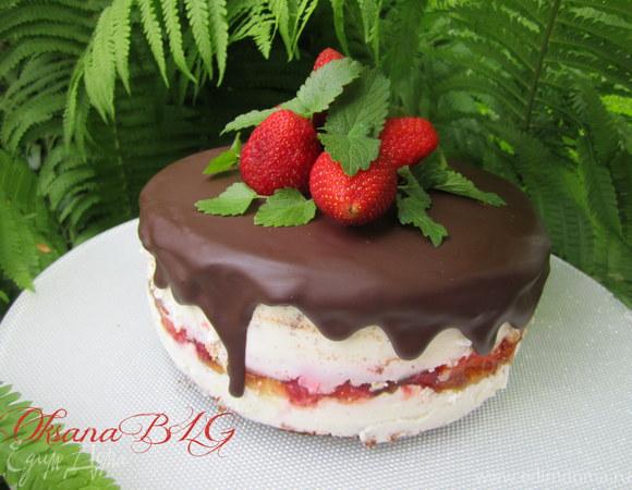 """Торт """"Шоколадная клубника"""""""
