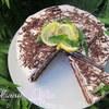"""Торт """"Воздушный, с шоколадно-лимонным вкусом"""""""
