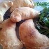 Мини-кальцоне с салями, сыром рикотта и брынзой