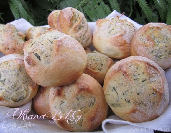 Болгарские булочки с укропом