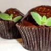 Шоколадно-мятные маффины