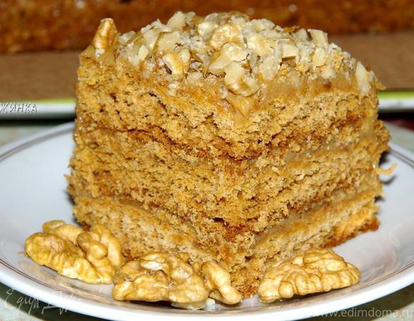 "Медовый торт ""Антуанетта"""