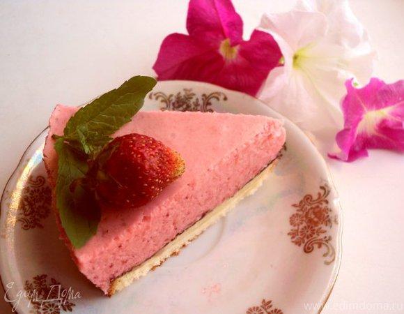 Торт « Клубника со сливками»