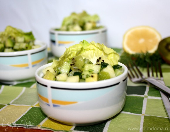 Очень зелёный салат