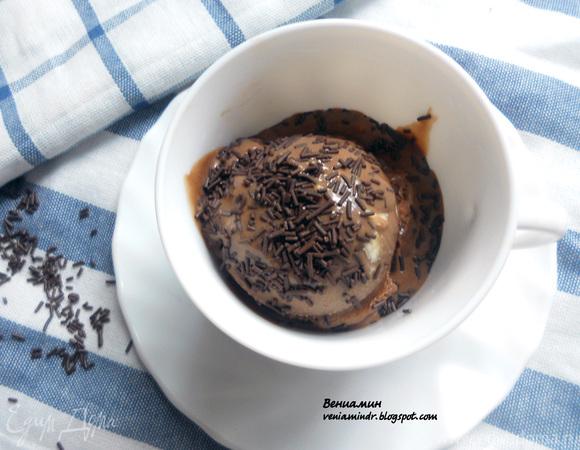 """Мороженое """"Бригадейро"""" (с вареной сгущенкой и арахисом) для Алевтины:)"""