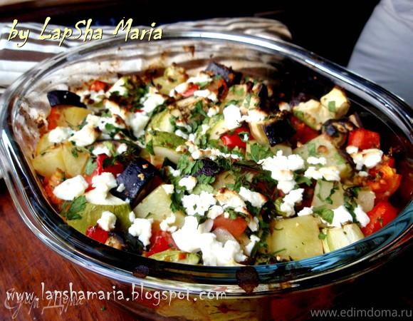 Бриам - греческое овощное рагу
