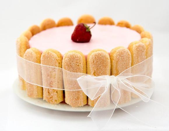 """Торт """"Клубничное искушение"""""""