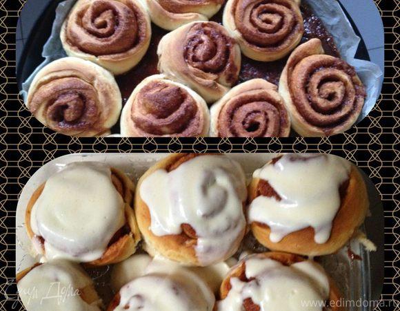 Роллы с корицей (Cinnamon rolls)