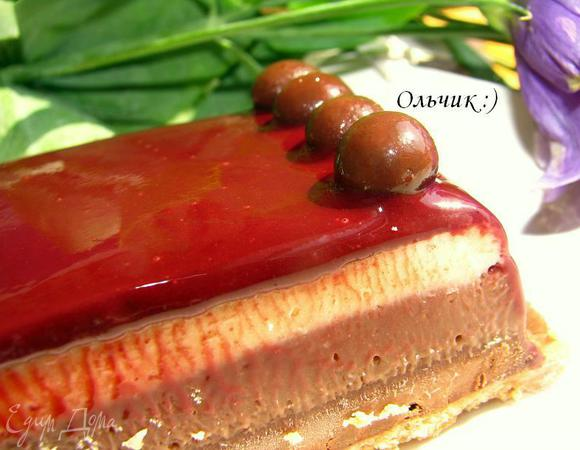 """Помадка """"3 шоколада"""" от Себастьяна Серво (Fondaunt aux 3 chocolats)"""