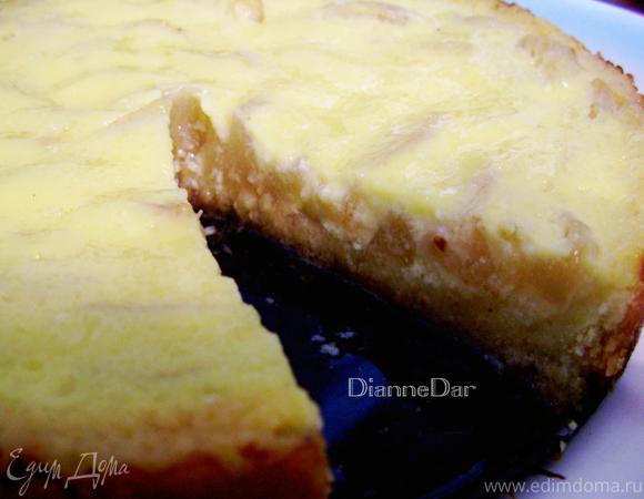Грушевый тарт с нежным кремом