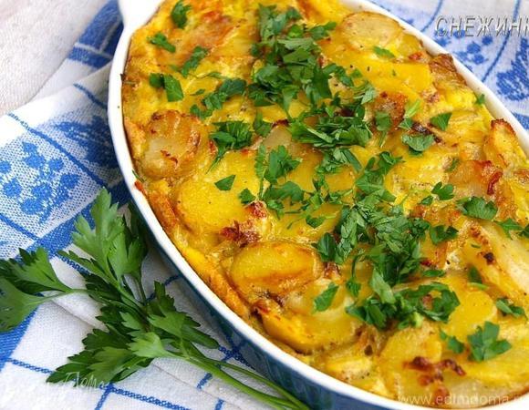 «Тортилья» запеченная: испанский омлет (Tortilla)