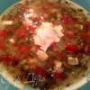 Хорватский суп с брынзой