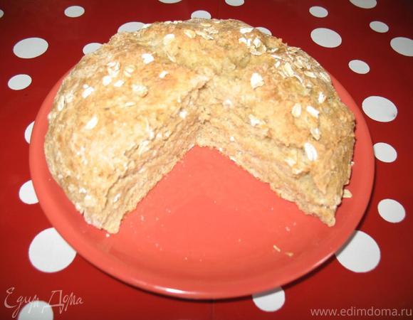 Ирландский содовый хлеб (без дрожжей и яиц)