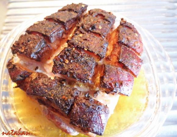 Лопатка свиная без кости рецепт с фото
