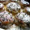 Тефтели из индейки с базиликом и мятой в сливочном соусе