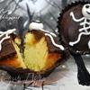 Ванильные кексы с повидлом и шоколадом Halloween