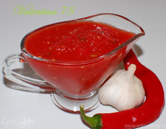 """""""Зверобой"""" (соус из свежих томатов с овощами)"""