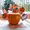 Мангово-апельсиновое мороженое для HALLOWEEN