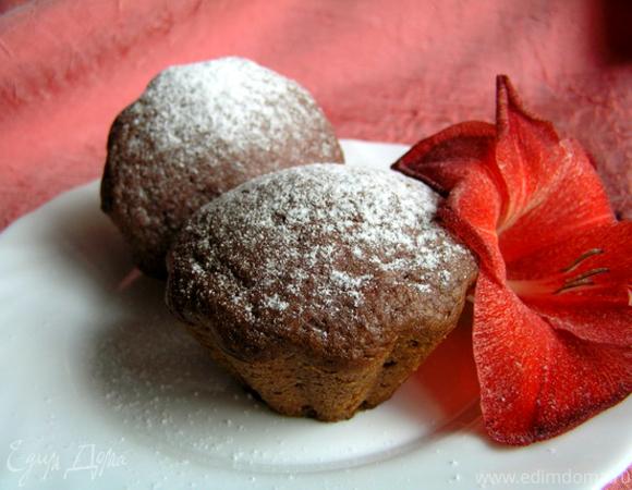 Смородиновые кексы с корицей