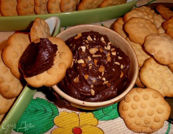 Домашнее шоколадное масло
