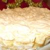 Клюквенно-апельсиновый пирог с меренгой