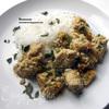 Курица с рикоттой, песто и кедровыми орехами