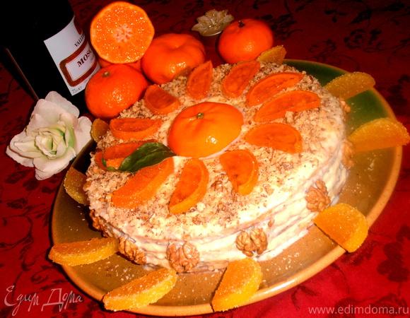 """Торт """"МАНДАРИШКА"""""""