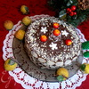 """Торт """"Миндальный хоровод"""" на белом шоколаде"""