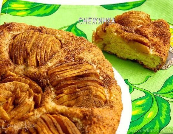 Шведский яблочный пирог