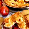 Яблочные чипсы для украшения пирога и не только
