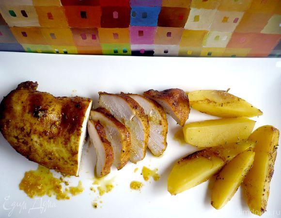 Филе куриной грудки с картофелем «Если бы на Марсе были города»