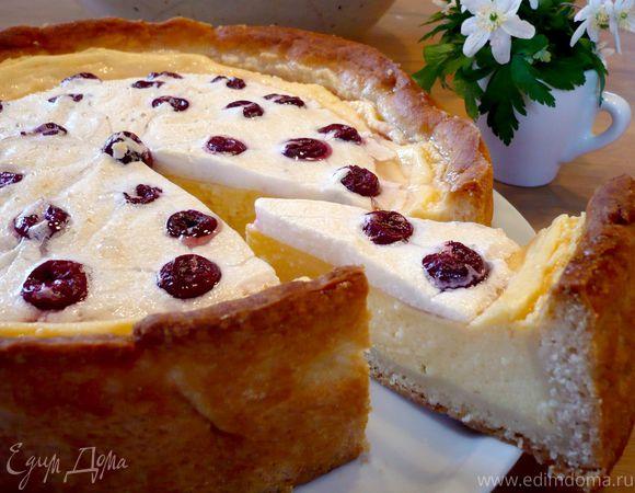 Творожный десерт с пудингом и вишневым безе «Чизкейк, сэр?!»
