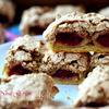 """Песочное печенье с ореховым безе и вишней """"Глаза совы"""""""