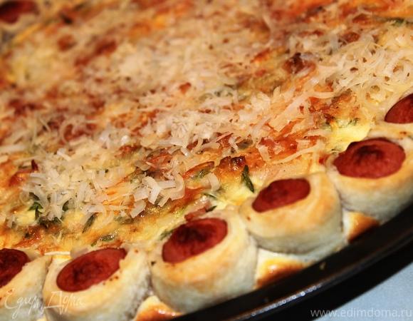 Заливная пицца-пирог